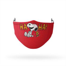 Peanuts Snoopy and Woodstock HA HA Reusable Cloth Face Mask