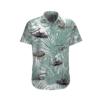 Vietnam Aircraft And Huey Helicopter Hawaiian Beach Shirt, Shorts