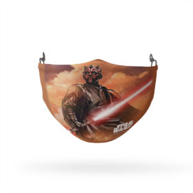 Star Wars Darth Maul Painting Reusable Cloth Face Mask