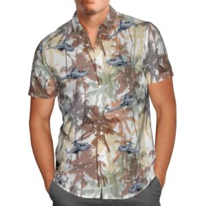 Bell AH-1Z Viper Hawaiian Beach Shirt, Shorts
