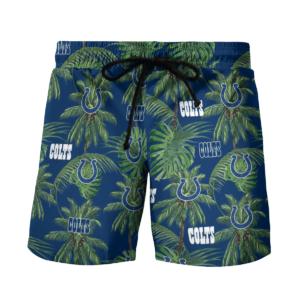 Indianapolis Colts Tropical Palm Tree Hawaii Shirt, Shorts