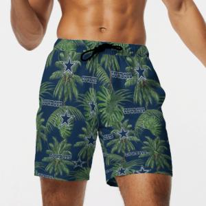 Dallas Cowboys Tropical Palm Tree Hawaii Shirt, Shorts