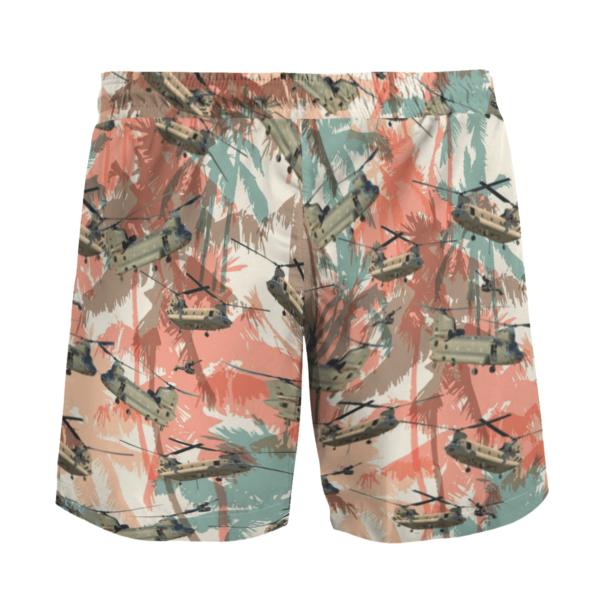 CH-47 Chinook Hawaiian Beach Shirt, Shorts