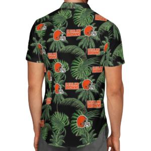 Cleveland Browns Tropical Palm Tree Hawaii Shirt, Shorts