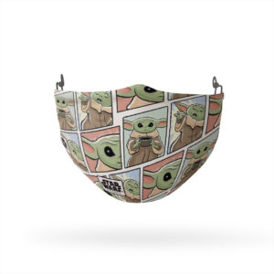 Star Wars The Child Pattern Reusable Cloth Face Mask