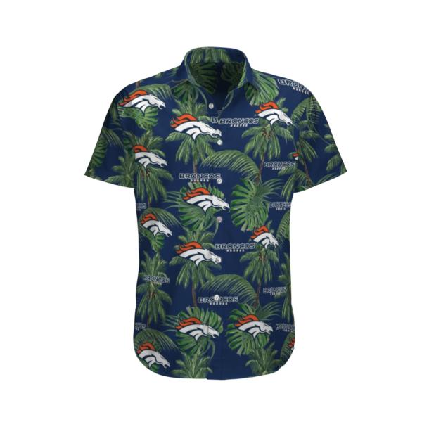 Denver Broncos Tropical Palm Tree Hawaii Shirt, Shorts