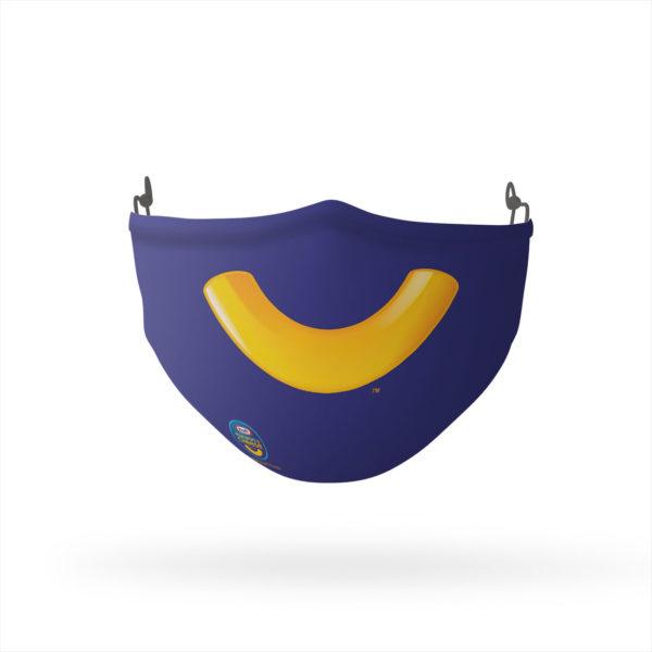 Kraft Macaroni & Cheese Smile Reusable Cloth Face Mask