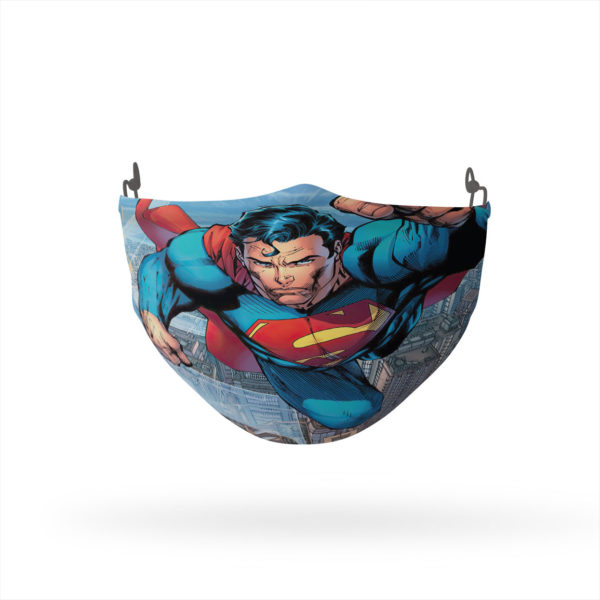 Superman Blue Sky Reusable Cloth Face Mask