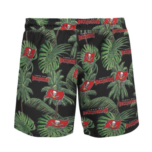 Tampa Bay Buccaneers Tropical Palm Tree Hawaii Shirt, Shorts