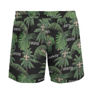 New Orleans Saints Tropical Palm Tree Hawaii Shirt, Shorts