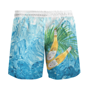 Michelob ULTRA Bear Hawaiian Beach Shirt, Shorts