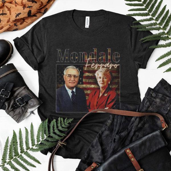 Mondale and Ferraro For American 1984 Vintage Democrat Campaign T-Shirt