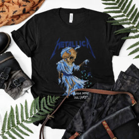 Metallica Shirt Their Money Tips Her Scales Again