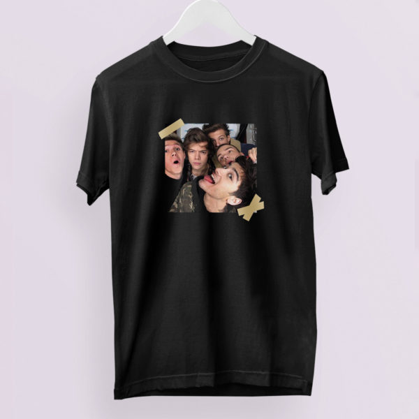 One Direction Selfie T-Shirt One Direction Sirius Pic 1D memories