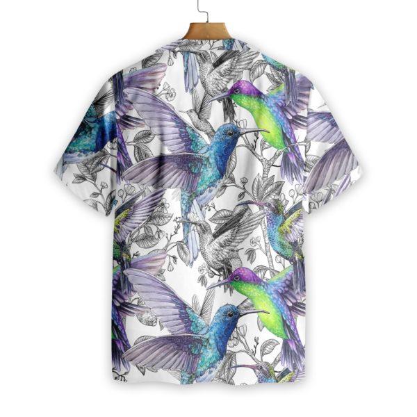 Hummingbirds Vintage Hawaiian Shirts