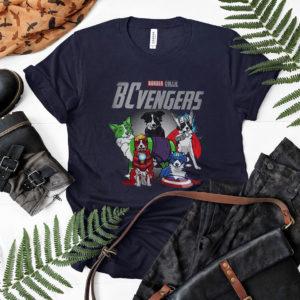 Border Collie Dog Bcvengers T shirt