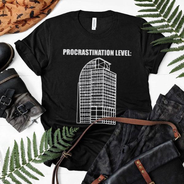 Procrastination Level Building Orlando Florida Shirt