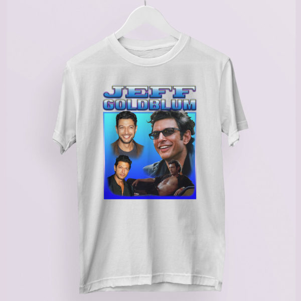 JEFF GOLDBLUM Tribute Inspired T-Shirt