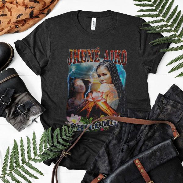 Vintage Retro Jhene Aiko Chilombo T-shirt