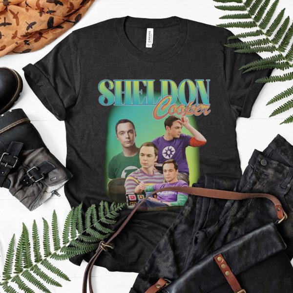 SHELDON COOPER Tribute T-shirt
