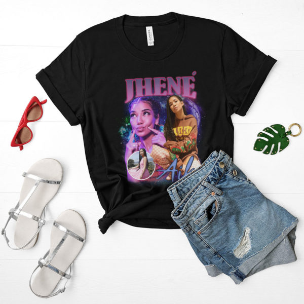 Jhene Aiko Vintage 90s Bootleg T-Shirt