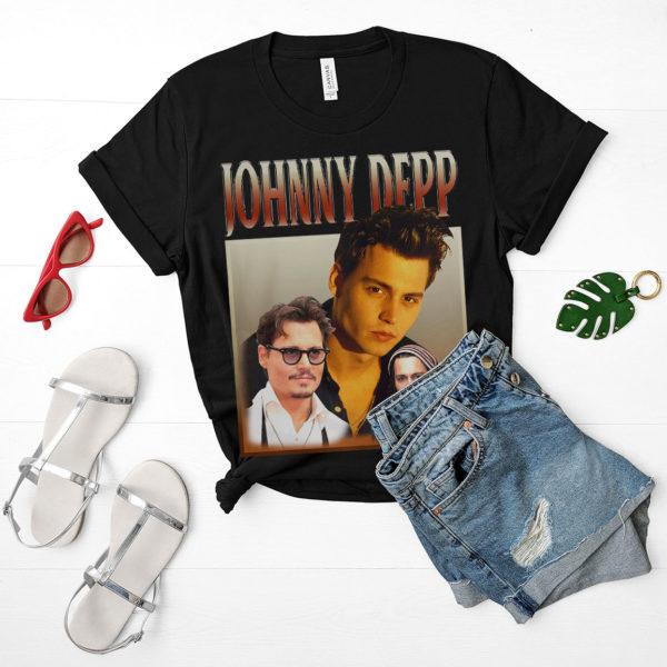 JOHNNY DEPP movies T-shirt