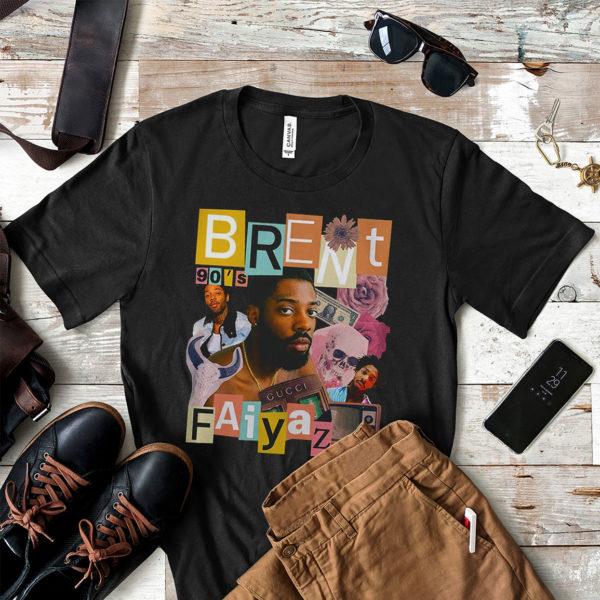 Brent Faiyaz T-Shirt Vintage 90's Hip Hop Rap Tour