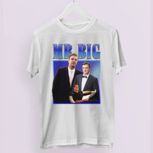 MR BIG From Sex And The City Inspired T-Shirt