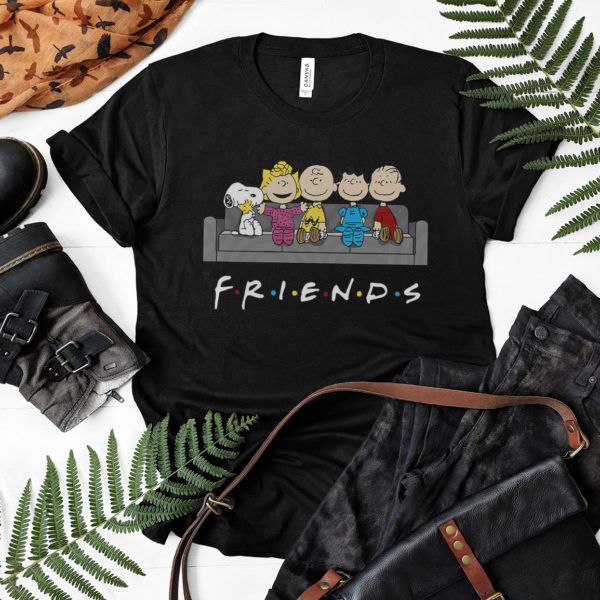 Snoopy And Friends t-shirt