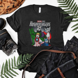 Husky Dog Huskyvengers T shirt