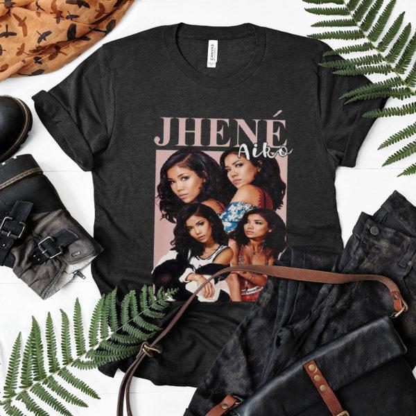 Vintage Retro Jhene Aiko T-shirt