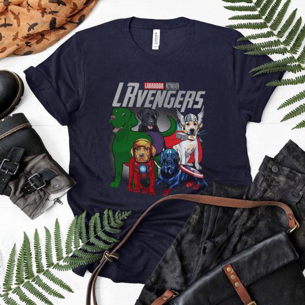 Labrador Retriever LRvengers T shirt