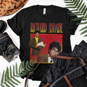 RICHARD AYOADE Tribute Tee shirt