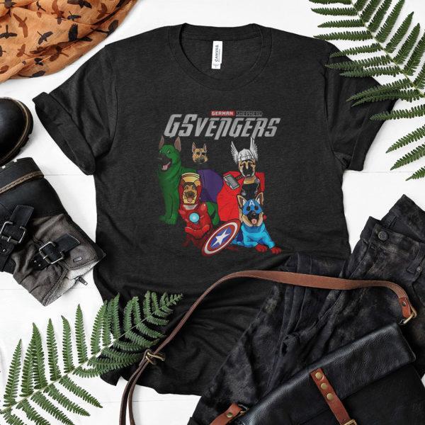 German Shepherd GSvengers T shirt