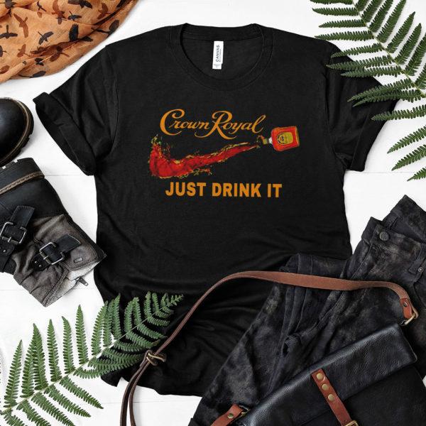 Nike Crown Royal just drink it shirt