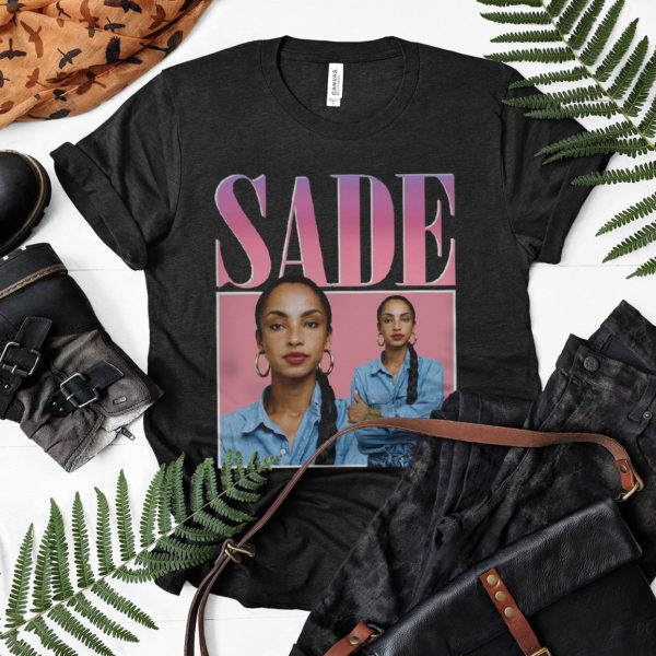 Sade Adu Vintage 90's Hip Hop Rap T-shirt Vintage Retro Unisex Shirt