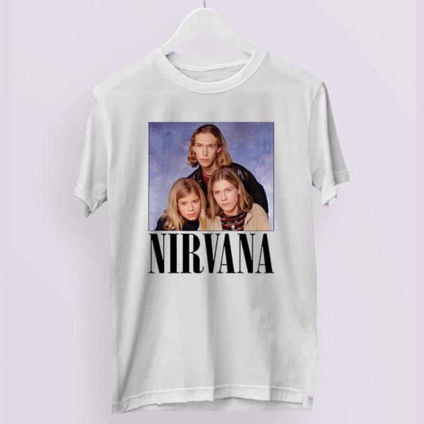 Vintage Nirvana Hanson T-Shirt 90s 1993 Band