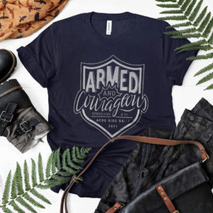 Armed and Courageous ACOG Kids Rally 2021 T-shirt, LS, Hoodie