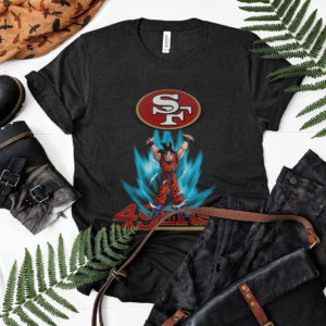 Son Goku Powering Up In Energy San Francisco 49ers Shirt