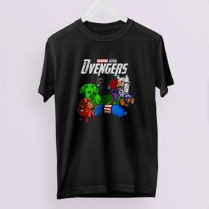 Dachshund Dog Dvengers T shirt
