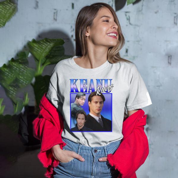 KEANU REEVES Inspired T-Shirt
