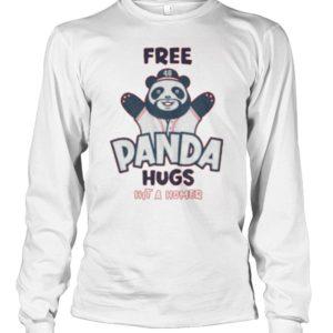Free Panda Hugs Hit A Homer Shirt