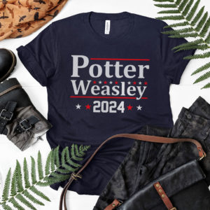 Potter Weasley 2024 shirt, LS, Hoodie