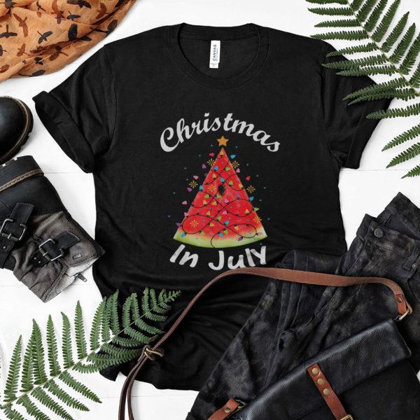 Christmas In July Summer Melon Christmas Tree Summer shirt