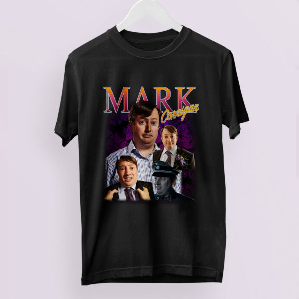 MARK From PEEP SHOW Homage T Shirt