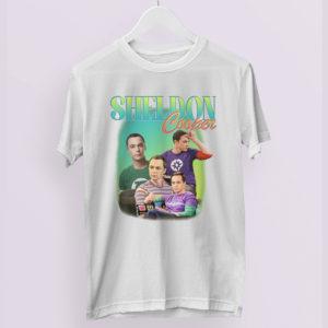 SHELDON COOPER Tribute Inspired T-Shirt