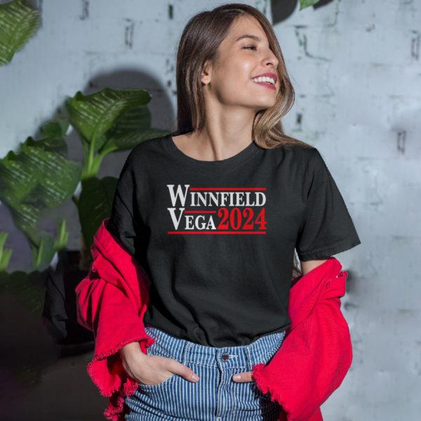 Winnfield Vega 2024 shirt, LS, Hoodie