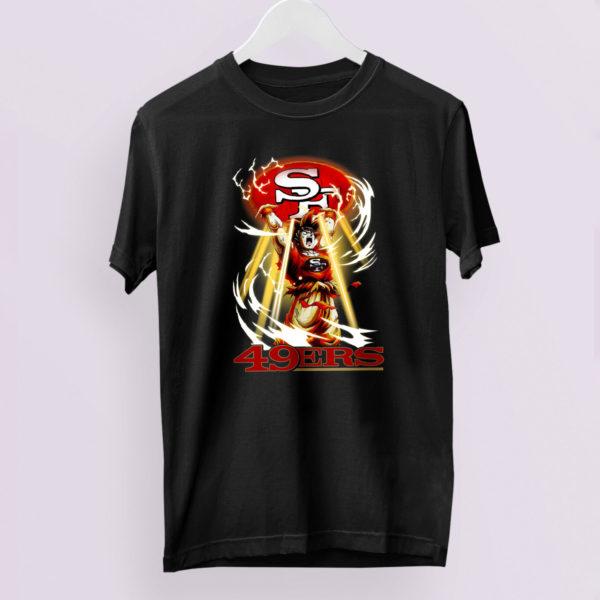 Son Goku Mashup San Francisco 49ers Genki Dama shirt