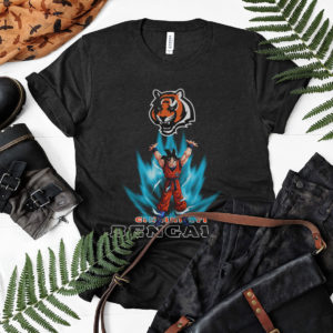 Son Goku Powering Up In Energy Cincinnati Bengals Shirt