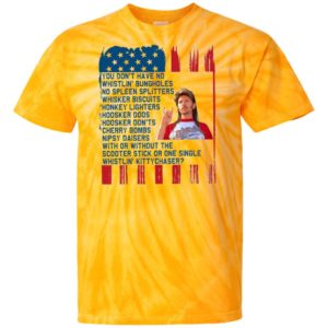 Joe Dirt Merica' 4th of July Tie Dye Shirt